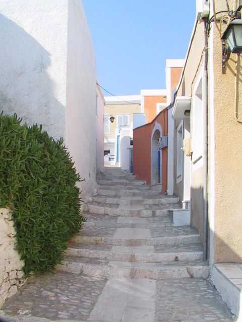 Ano Syros: Houses in Ano Syros