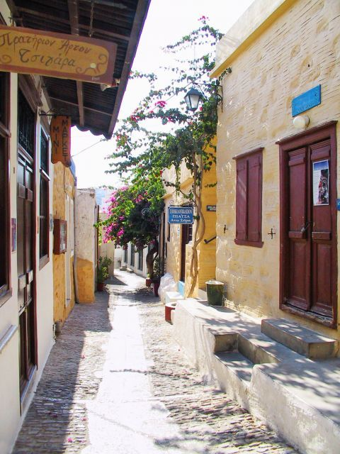 Ano Syros: Local shops