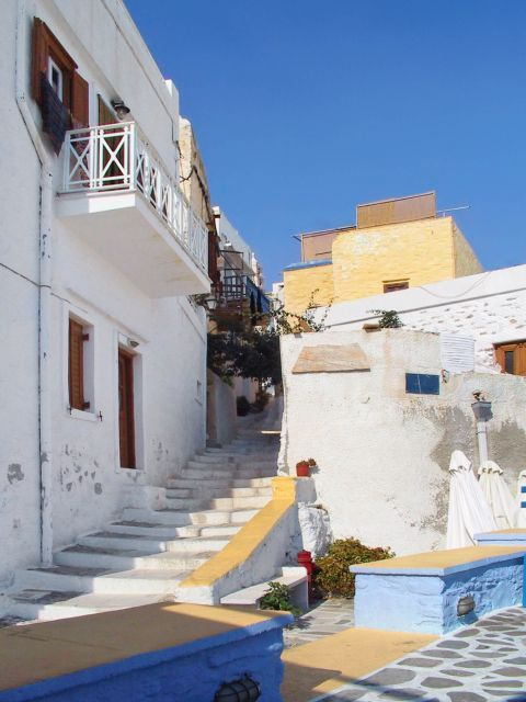 Ano Syros: Traditional houses in Ano Syros