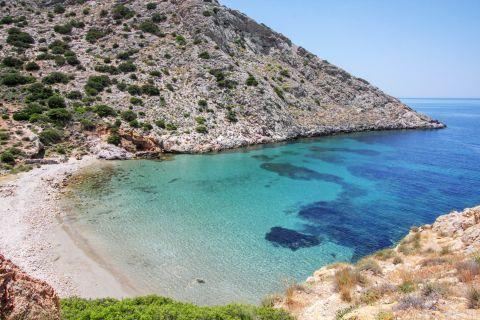 Armeos: Secluded beach