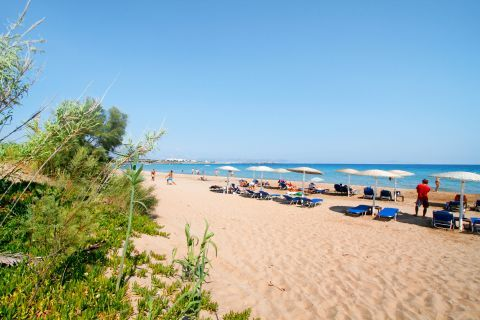 Golden Beach: The Golden Beach is a popular spot for the visitors of Paros