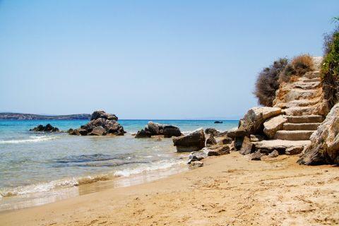 Golden Beach: Some rocky spots