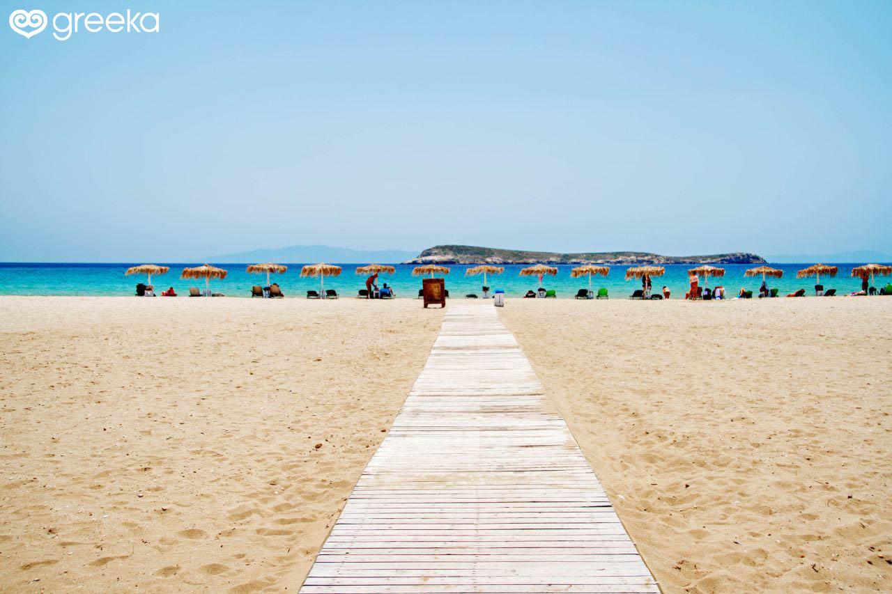 Paros Golden Beach Beaches
