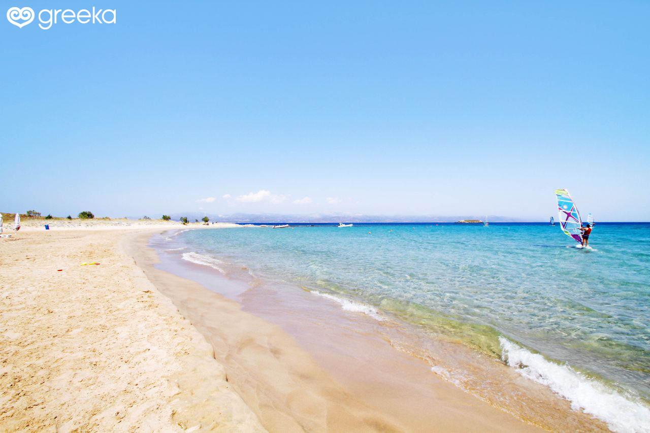 Paros New Golden Beach Beaches
