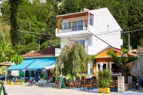 Frikes Village: Local eateries.