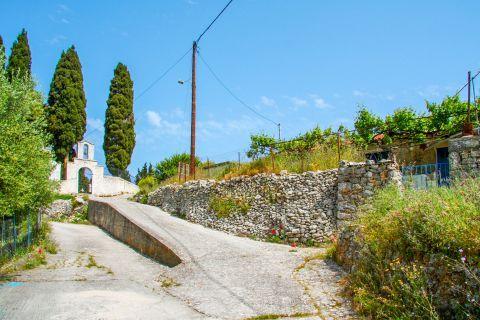 Exogi: A picturesque spot in Exogi village.