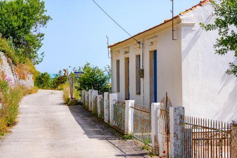 Exogi: A house in Exogi village.