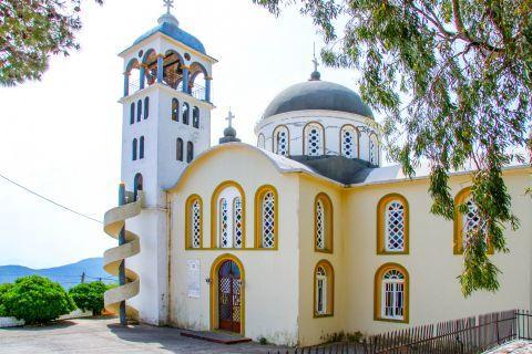 Exogi: A beautiful church in Exogi village.