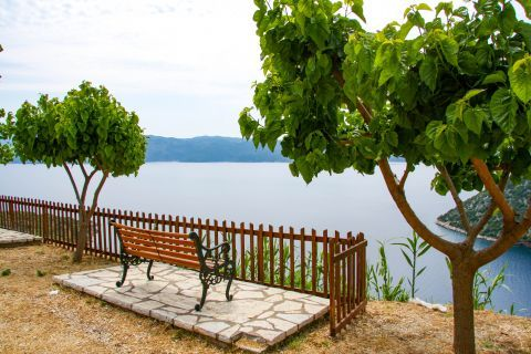 Stavros: A comfortable spot with magnificent view.