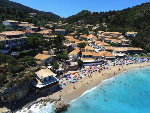 Agios Nikitas Village: Aerial view