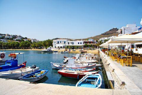 Piso Livadi: Small port