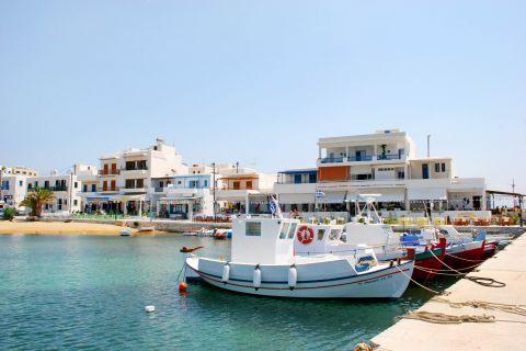Piso Livadi: Fishing boats