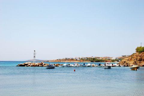 Piso Livadi: The small harbor of Piso Livadi
