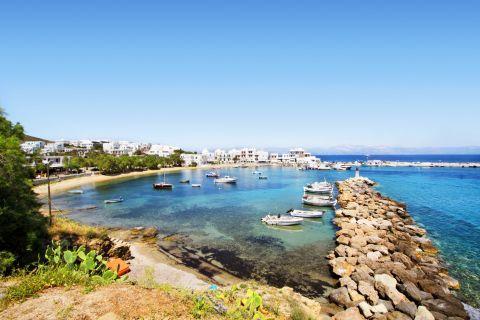 Piso Livadi: Panoramic view of Piso livadi port