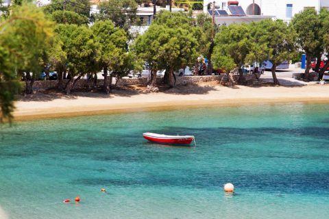 Piso Livadi: A small boat