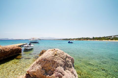 Santa Maria: Rock formations and turquoise waters