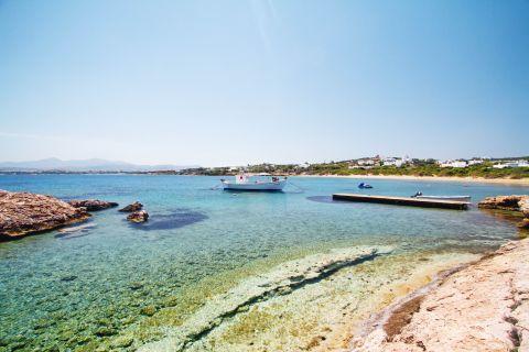 Santa Maria: Crystal clear waters