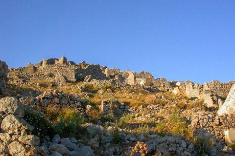 Pothia Town: Ruins of the Castle of Pothia.