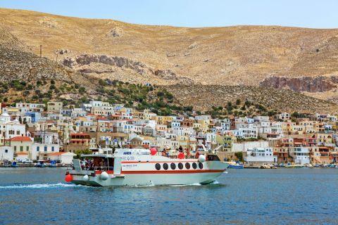 Pothia Town: Travel to Kalymnos.