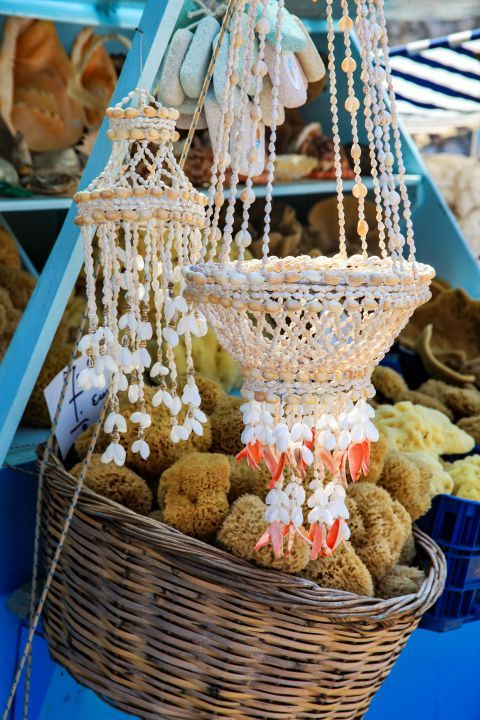 Vathy: Beautiful decoration items.