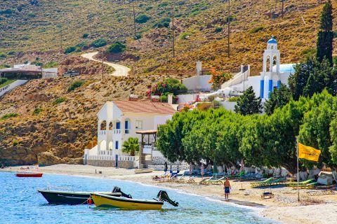Emporio beach: