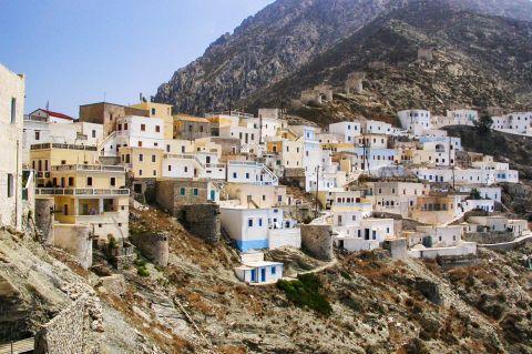 Olympos: Olympos village.