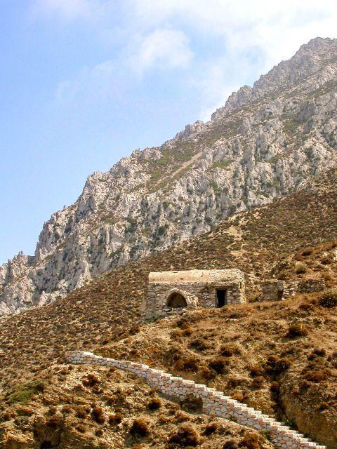 Olympos: Hills and short vegetation.