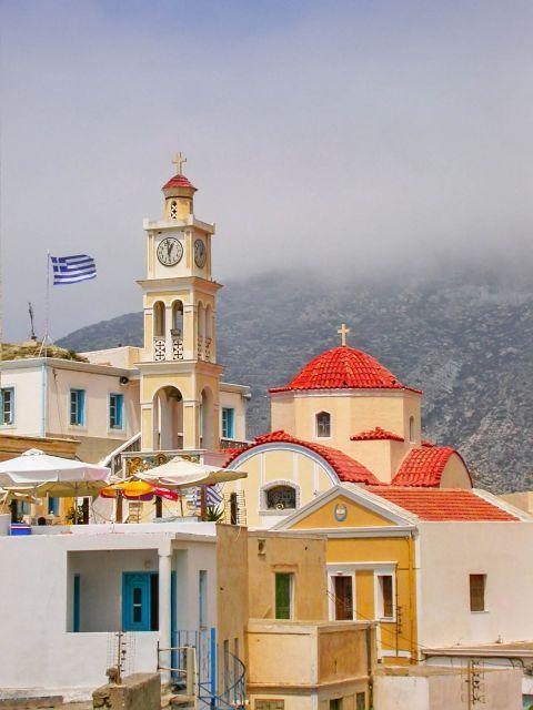 Olympos: Impressive church in Olympos village.