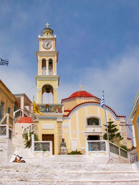 Olympos: An impressive church in Olympos village.