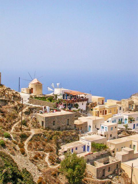 Olympos: View of Olympos village.