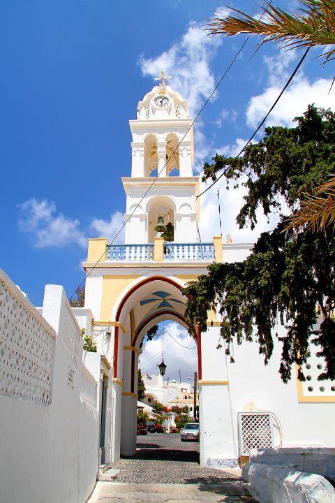 Megalochori: A Cycladic church