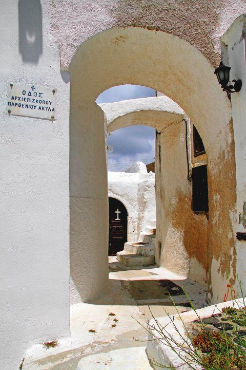 Megalochori: An old Cycladic church