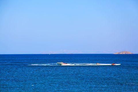Kambos beach: Water sport activities, Kambos beach.