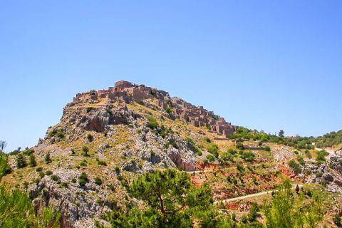 Anavatos: Anavatos is a deserted village.