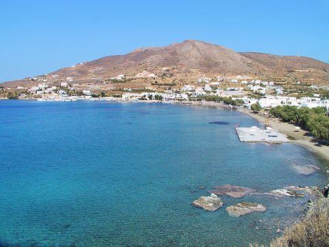 Finikas: Panoramic view of Finikas beach