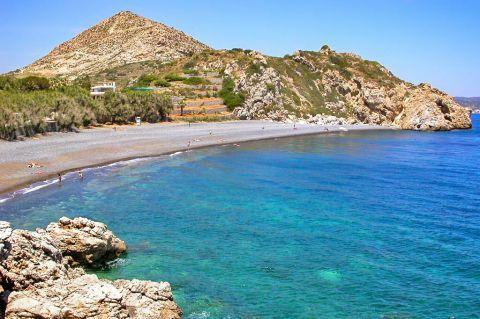 Emporios Mavros Gialos: Crystal clear, blue waters.