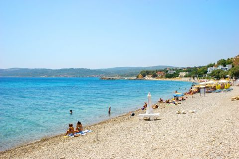 Agia Fotini: This beach is an ideal place to spend some days in a peaceful area.
