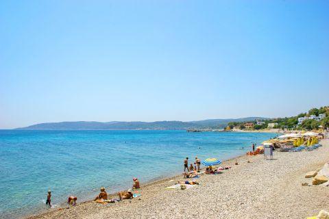 Agia Fotini: Relaxing sea view.