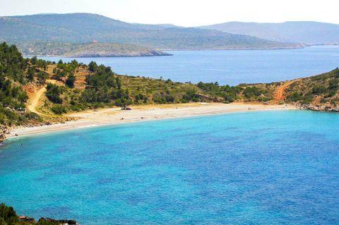 Trahili: Deep blue waters.