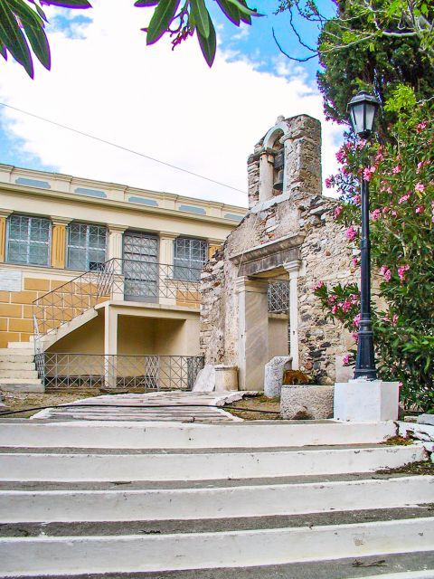 Agia Irini: It is the oldest church of Ikaria, built on the site of a 4th-century basilica.