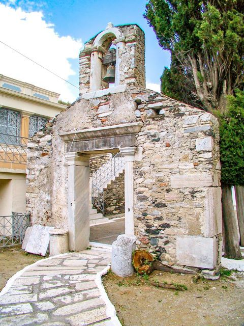 Agia Irini: This 12th-century church is located in the village of Kambos, near the port of Evdilos.