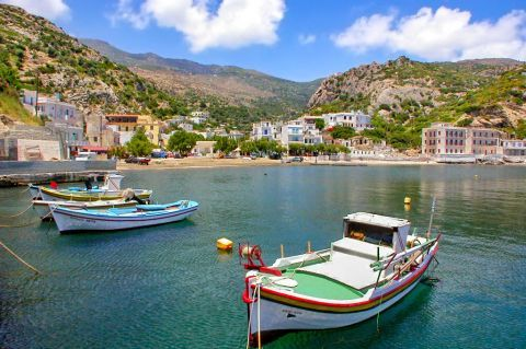 Therma: Therma is the spa village of Ikaria, celebrated since ancient times for its therapeutic radioactive hot mineral springs.