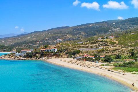 Livadi: Azure waters and amazing natural surroundings.