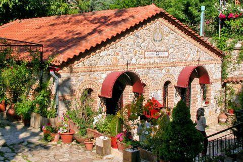 Agiassos: Church of Zoodochos Pigi.