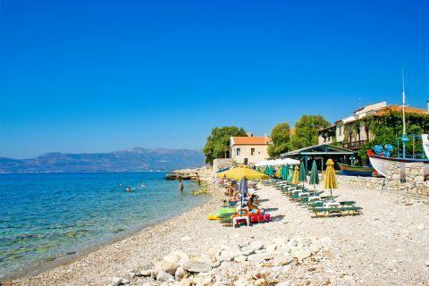 Pythagorio beach: Pythagorio beach.