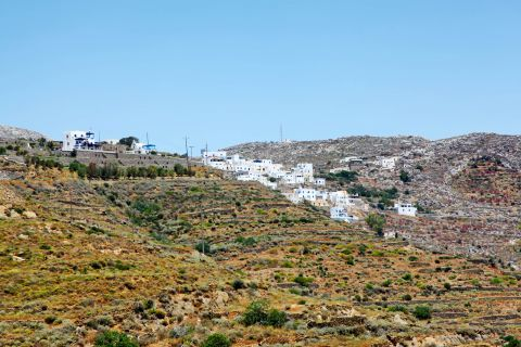 Hills and whitewashed houses