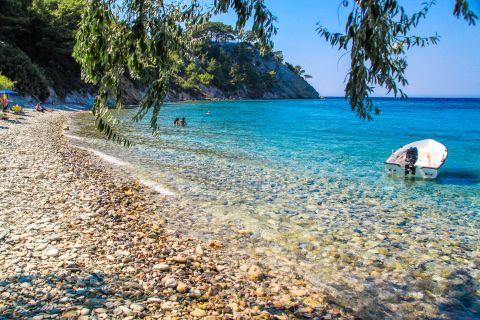 Lemonakia: Lemonakia is a sheltered bay, located north west of Vathy.