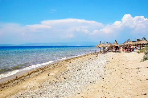 Skala Prinos: Skala Prinos beach.
