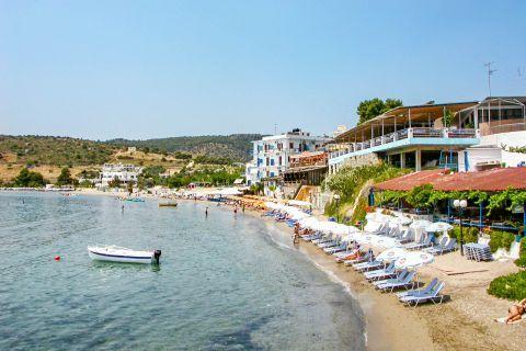 Agia Marina beach: Agia Marina beach.