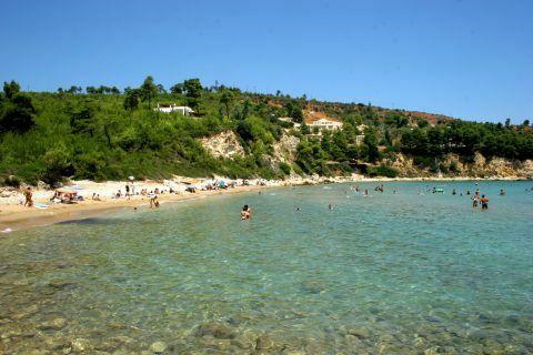 Chrisi Milia: Chrisi Milia beach